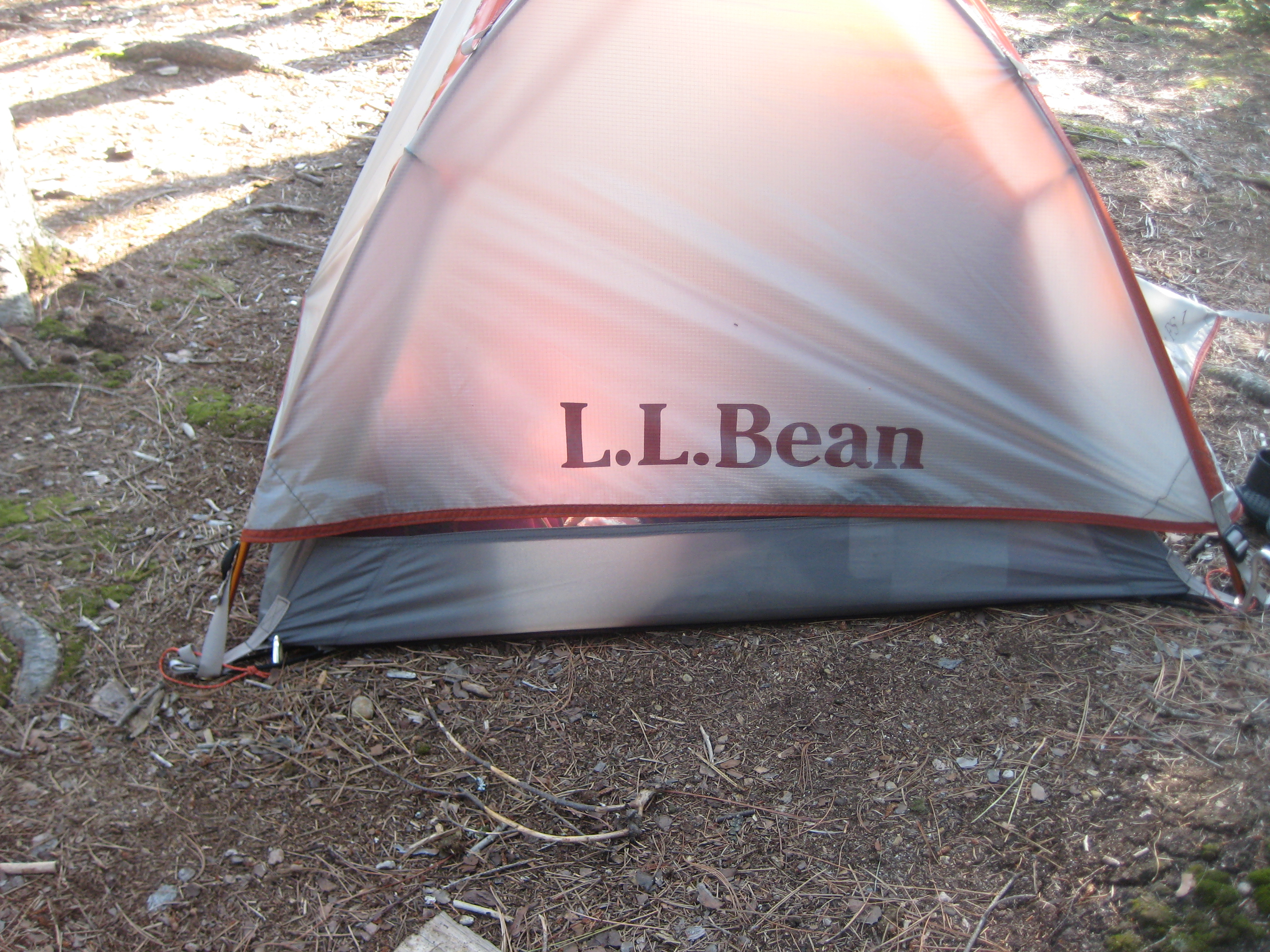 LLBean tent. fly doesnt go to the ground. & Kayak trip to Lake Opeongo Algonquin Park Ontario Canada 25-30 ...